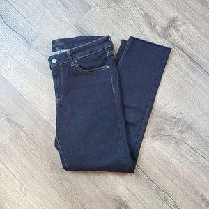 UNIQLO Skinny Jeans Raw Hem